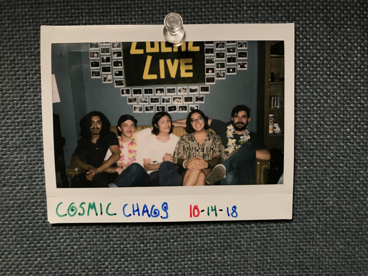 Local Live Lowdown: Cosmic Chaos