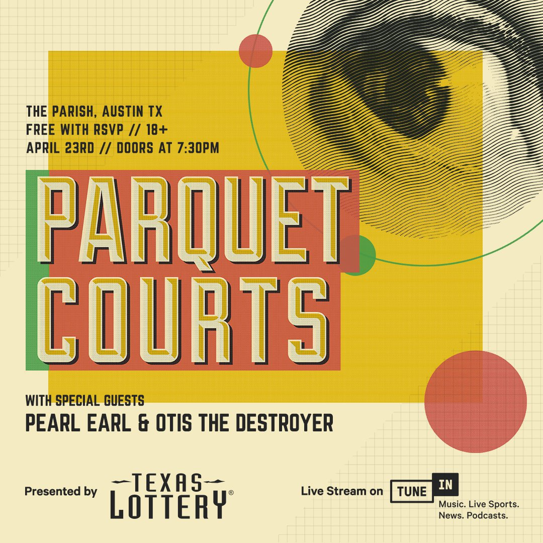 Parquet Courts at Parish