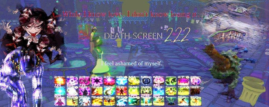 Death Screen 2.22 banner