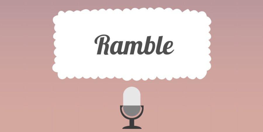 Ramble banner