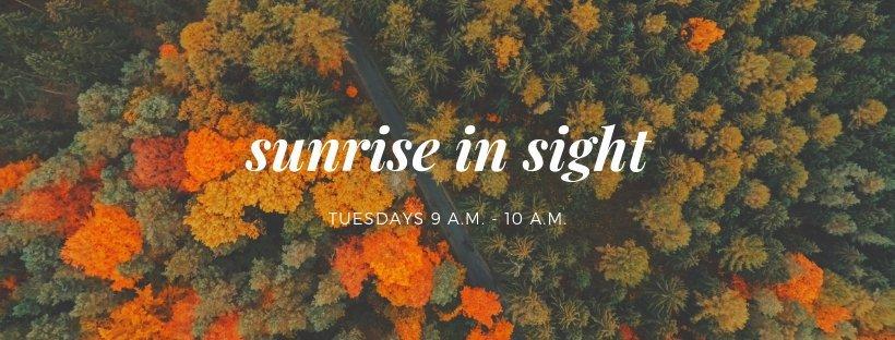 Sunrise In Sight banner