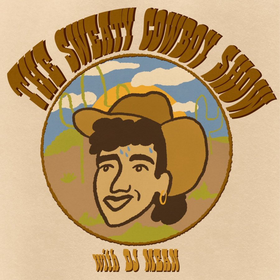 sweaty cowboy banner